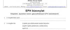 EPH jegyzőkönyv